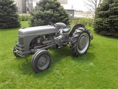 1947 Ford 2N 2WD Tractor & 2 Bottom Plow