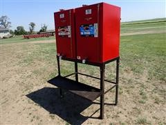 MDS Twin 80-Gal Bulk Oil Stand