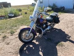 2000 Harley Davidson FLSTF/Fat Boy Motorcycle
