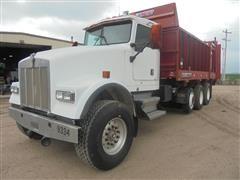 1999 Kenworth W900 Tri/A Manure Truck