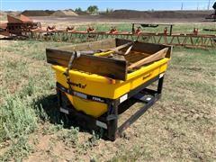 SnowEx 7500 Truck Box Poly Spreader