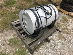 Dura Craft Aluminum Diesel Fuel Transport Tank W/Pump