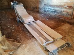 Kraus Stainless Steel Unload Conveyor