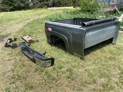 2012 Chevrolet 2500 4x4 Pickup Box