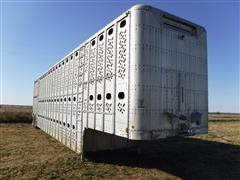 1982 Wilson PSDCL-106 50' Multi-Level T/A Aluminum Livestock Trailer