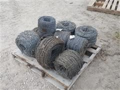 Unused Rolls Barbed Wire
