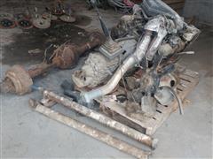 International AT190 Engine & 5-Speed Transmission