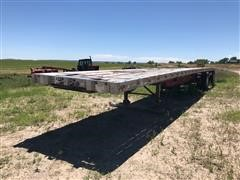 1994 Wilson Road Brute T/A Flatbed Trailer