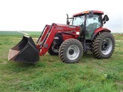 2008 Case IH Maxxum 130 Pro Series MFWD Tractor W/L740 Loader