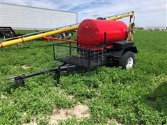 Shopmade 300 Gal Fuel Trailer With Pump