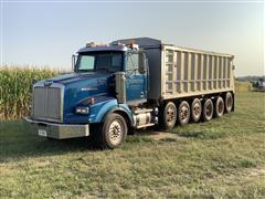 2001 Western Star 4900 6 Axle Truck w/ 24' J&J Aluminium Dump Box