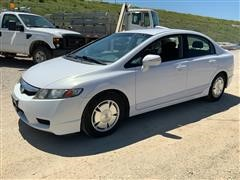 2010 Honda Civic Hybrid 4-Door Sedan