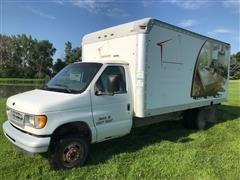 2000 Ford E350 Super Duty Van Truck
