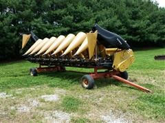 2015 CLAAS Lexion 8-30 Corn Head & Cart