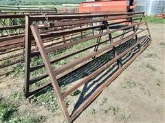 Shop Built 20' Heavy-Duty Livestock Gates