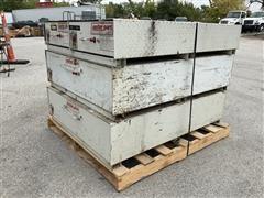 Weatherguard Pack Rat Tool Boxes W/ Sliding Drawers