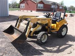Cub Cadet 6284T Compact Tractor W/Loader