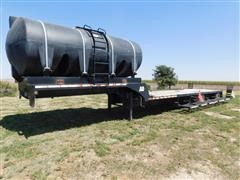 2004 B-B TSPX22A Spread Axle Drop Deck Sprayer Trailer W/Water Tank