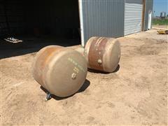John Deere 220 Saddle Tanks