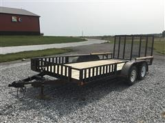 2014 Finishline ATV78516 T/A Utility Trailer