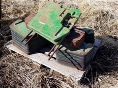 John Deere Front Tractor Weights & Bracket