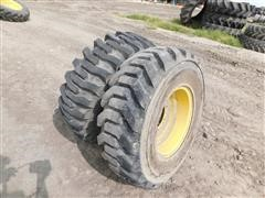 Goodyear 12.5/80-18 Tires On JD Rims