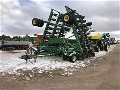 2008 John Deere 1895 Air Drill W/JD 1910 Tow Behind Cart