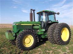 1990 John Deere 4955 MFWD Tractor