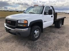 2007 GMC 3500 2WD Flatbed Pickup