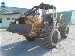 John Deere 540B Log Skidder