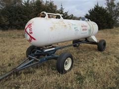 Duo Lift Running Gear W/1000-Gal NH3 Tank