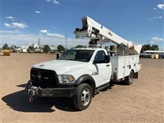 2013 RAM 5500 4x4 Bucket Truck