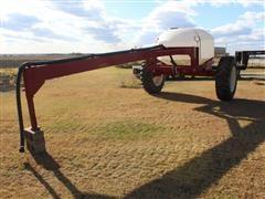Shop Built Gooseneck Fertilizer Cart