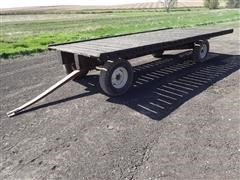 "Kory 6872 Running Gear W/18.5' X 102"" Hay Rack"