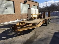 2009 Belshe T/A Directional Drill Trailer w/ Mix System