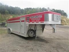 2013 Featherlite Stock Trailer