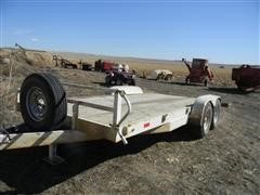 1996 Buck Dandy Flatbed Trailer