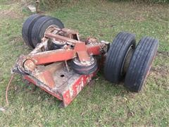 Air Tag Cut Off Trailer Axle W/tires