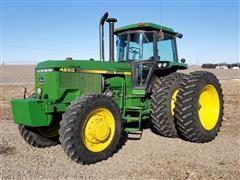 1984 John Deere 4850 MFWD Tractor W/Duals