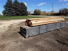 "2017 White Pine 2 "" X 8"" X 16' Lumber"