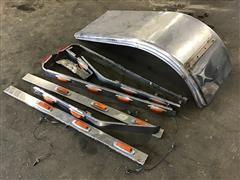 Kenworth W900 Stainless Steel Underbody Light Kit