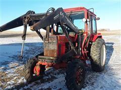 1991 Belarus 925 MFWD Tractor W/Loader
