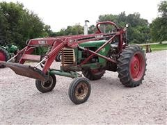 1953 Oliver 88 Row Crop 2WD Tractor W/Loader