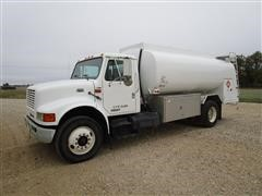 1998 International 4900 Fuel Truck W/2500-Gal Capacity