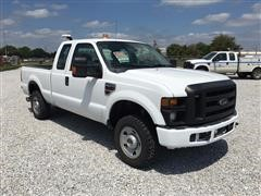 2009 Ford F250XL Super Duty 4X4 Extended Cab Pickup