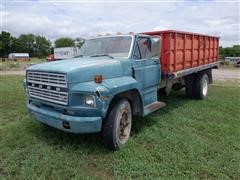 1980 Ford F600 S/A Grain Truck