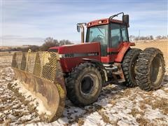 1998 Case IH 8920 MFWD Tractor W/Blade