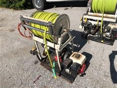 Hannay Hose Reel, Sprayer & Tanks