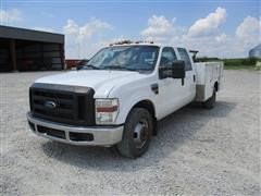 2008 Ford F350 XL Crew Cab Utility Truck