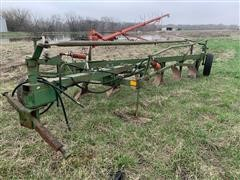 """Oliver 6x16"""" Semi Mounted Steerable Plow W/ On-Land Hitch"""